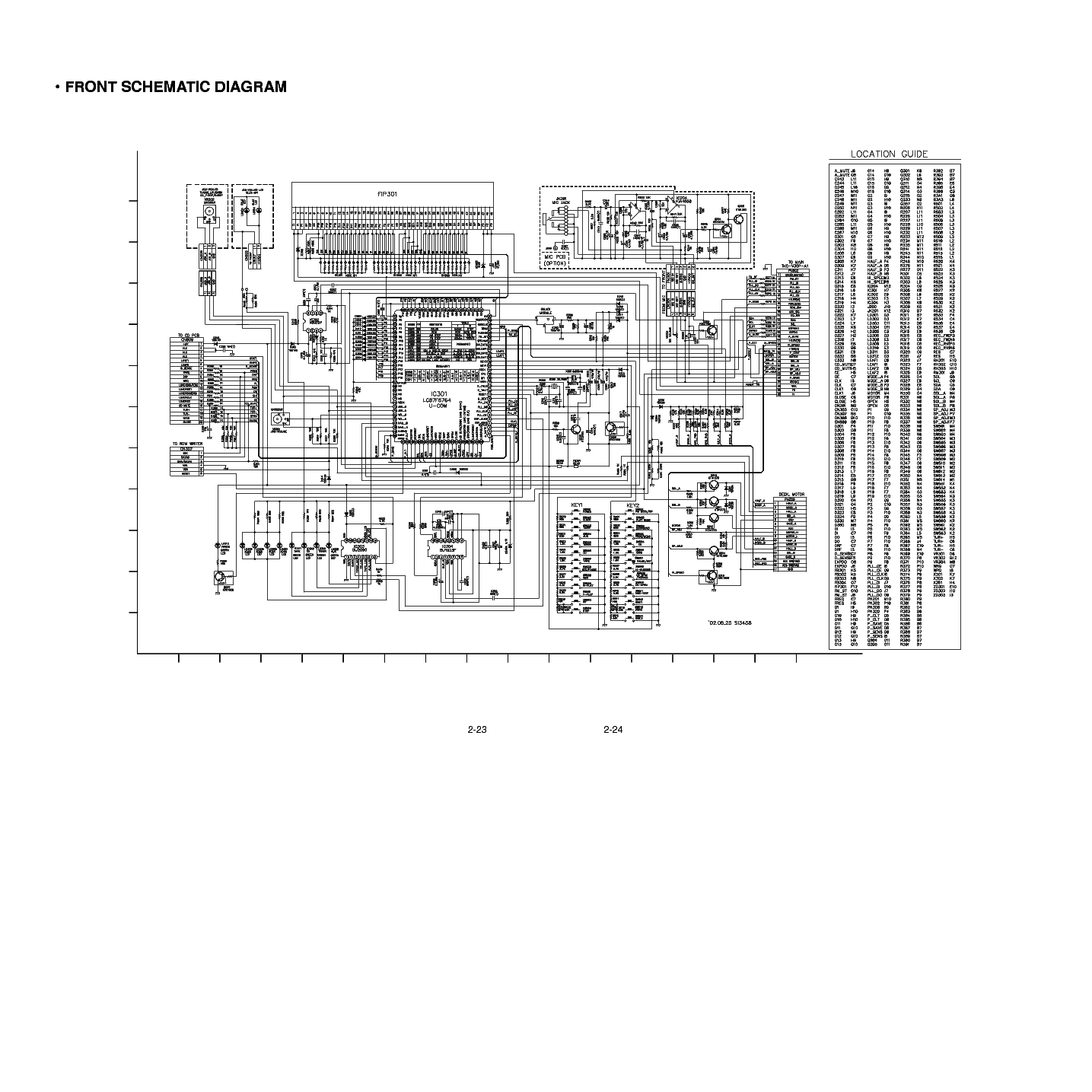 LG FFH-786 SCH Service Manual download, schematics, eeprom