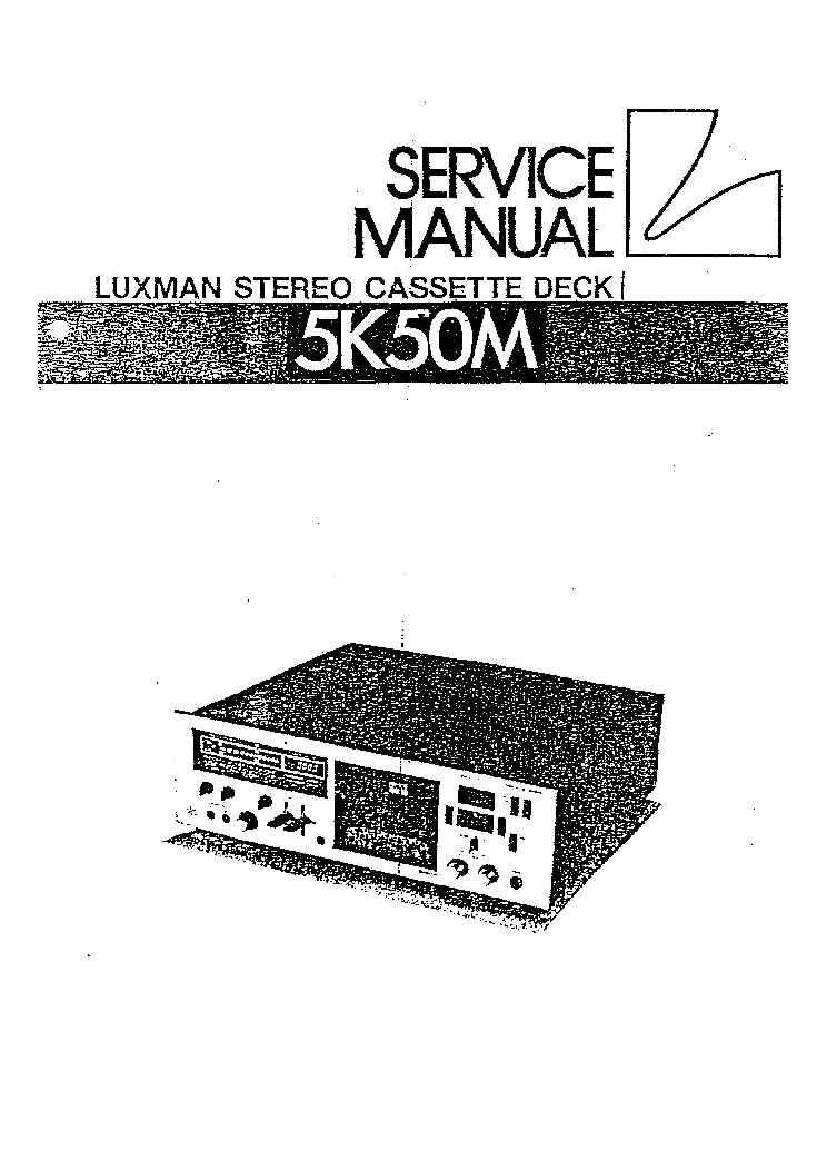 LUXMAN L-215 Service Manual free download, schematics
