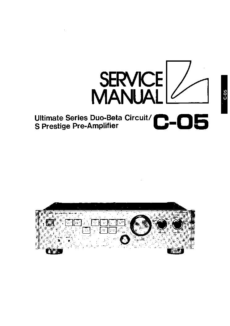 LUXMAN B12 SCH Service Manual download, schematics, eeprom