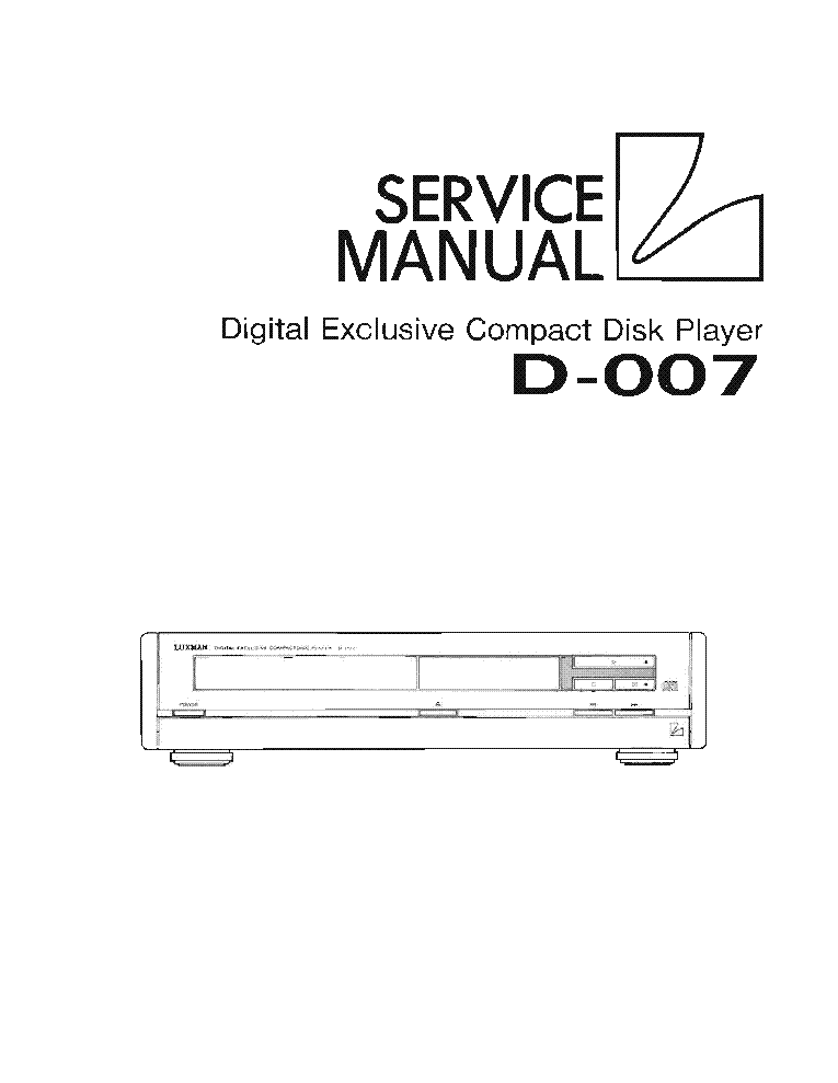 LUXMAN M-4000 Service Manual download, schematics, eeprom