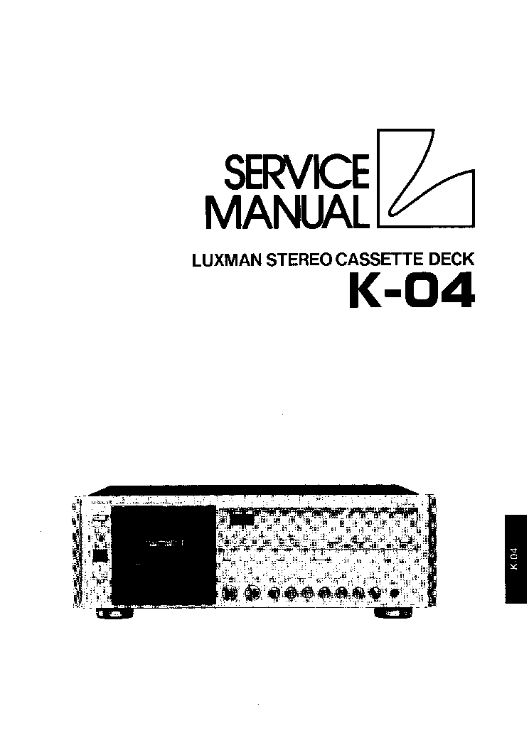 LUXMAN R-1500 Service Manual download, schematics, eeprom