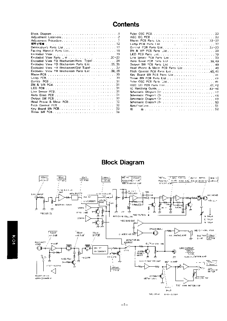 LUXMAN K04 ALPINE AL85 SM Service Manual download