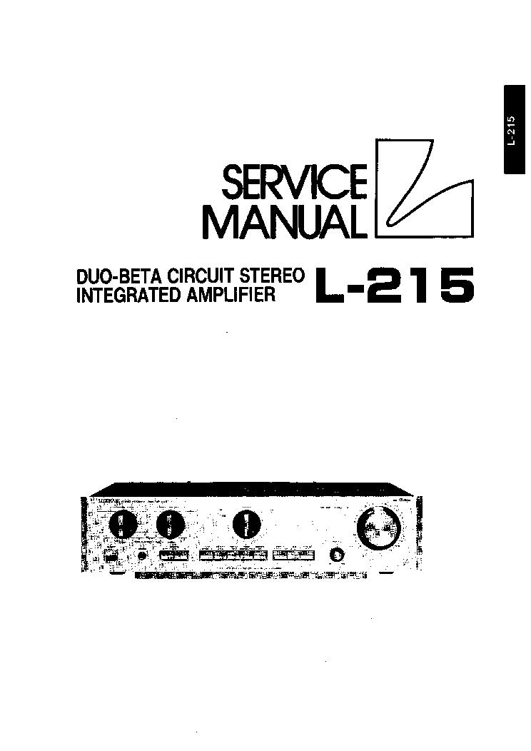 LUXMAN C-1000 PREAMPLIFIER 1976 SCH Service Manual free