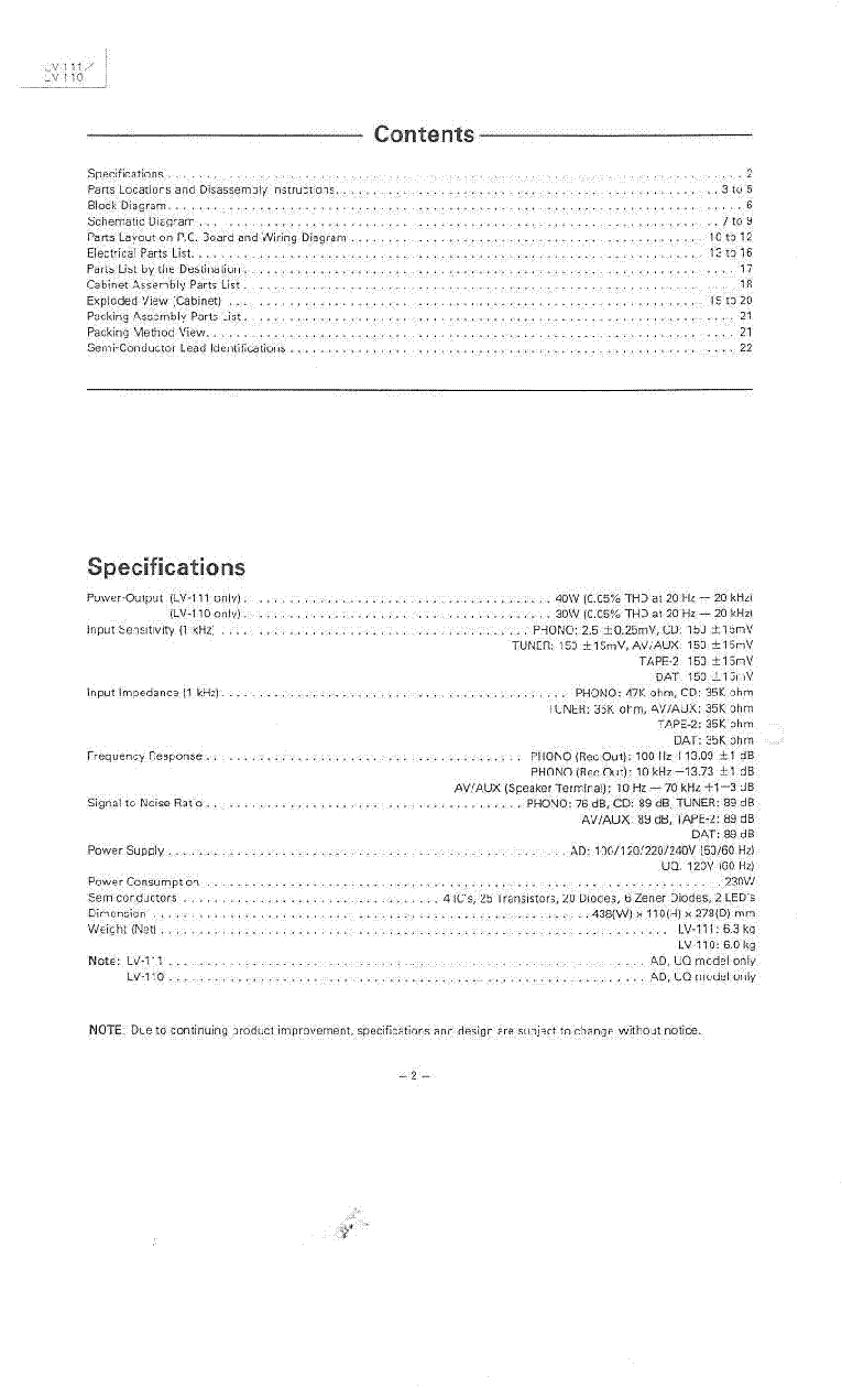 medium resolution of luxman lv 110 lv 111 sm service manual 2nd page