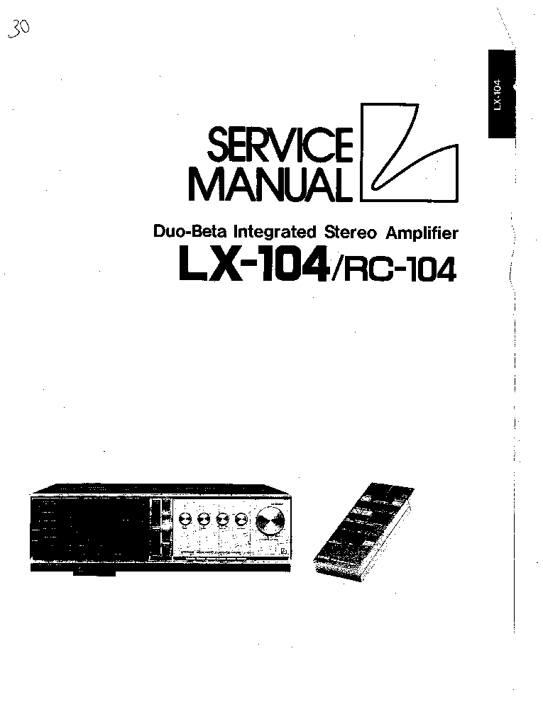 LUXMAN M-05 Service Manual download, schematics, eeprom