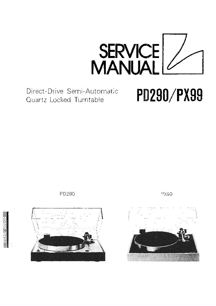 LUXMAN PD262 PD264 SM Service Manual free download