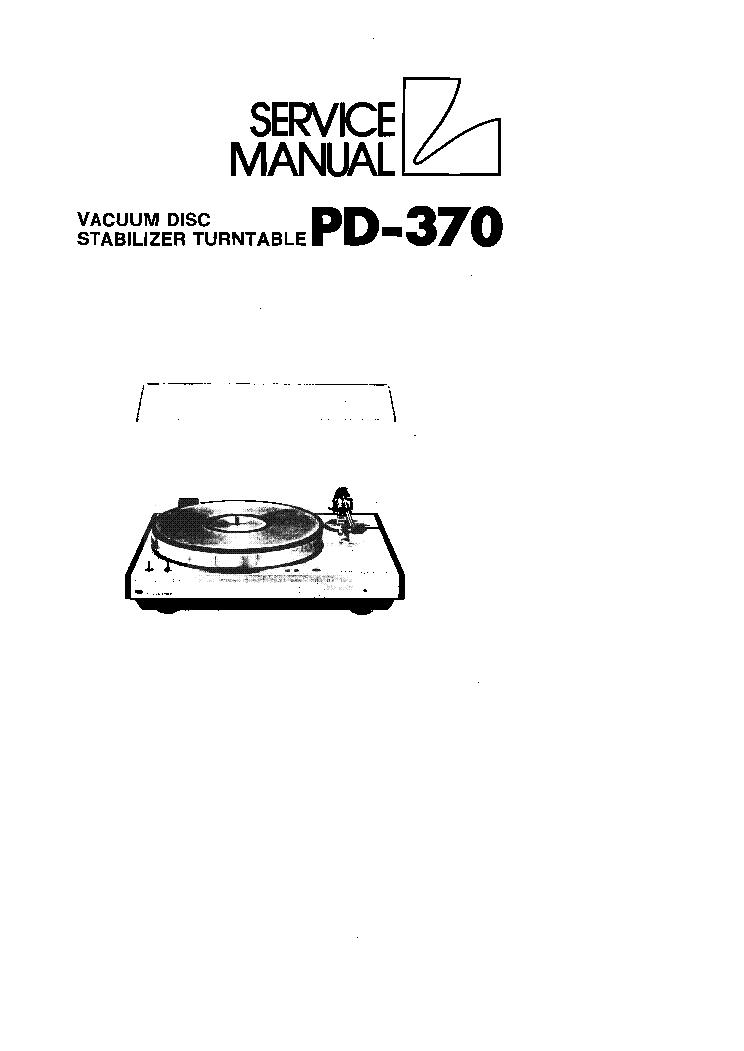 LUXMAN L-405 SM Service Manual download, schematics