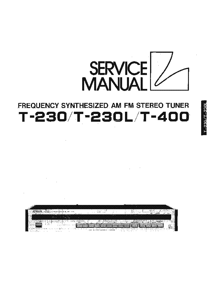 LUXMAN A312 A321 A331 STEREO AMPLIFIER SM Service Manual