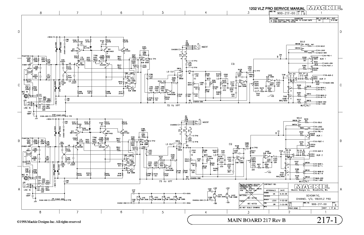 hight resolution of mackie 1202 vlz pro schematic diagram service manual download free audio schematic diagram