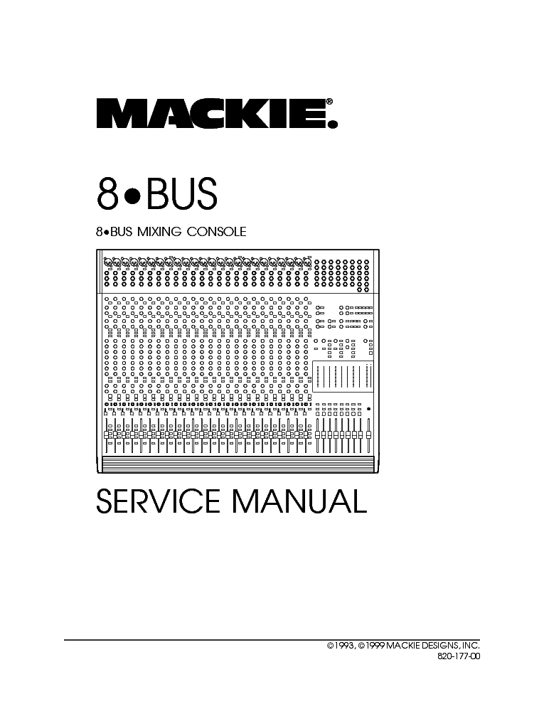MACKIE SR 24.4 Service Manual free download, schematics