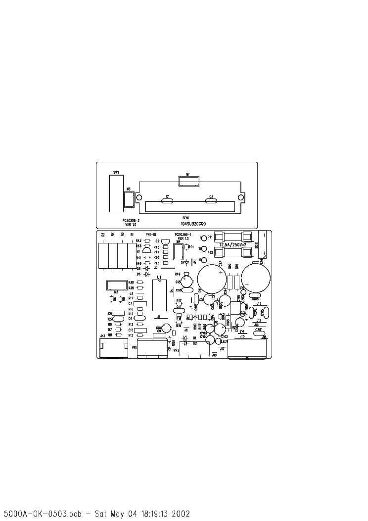 MAGNAT STYLUS 5000A Service Manual download, schematics