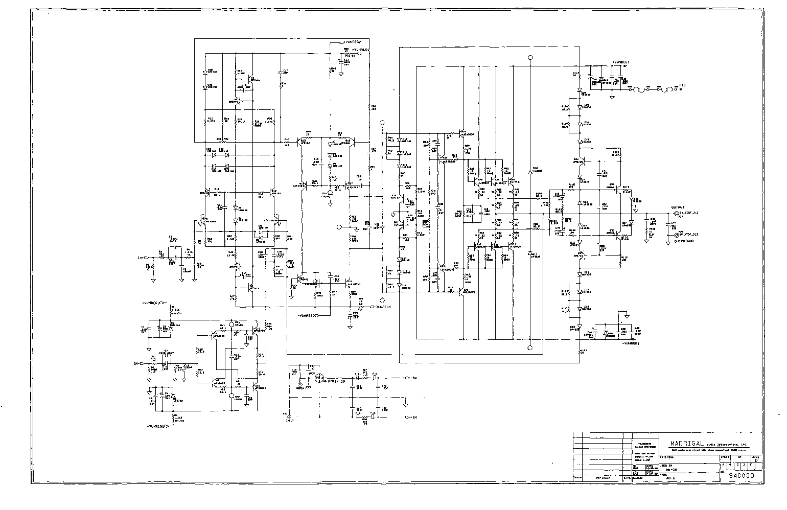 Mnl Mark Levinson No 33h Schematics For Service And