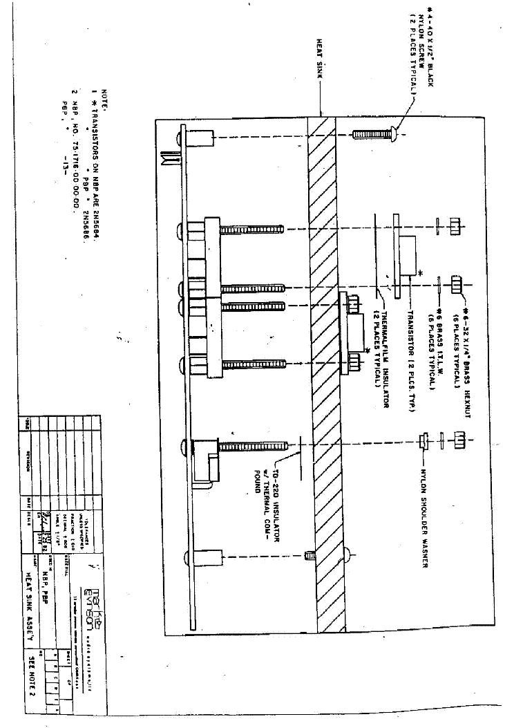 MARK-LEVINSON ML-2 Service Manual download, schematics