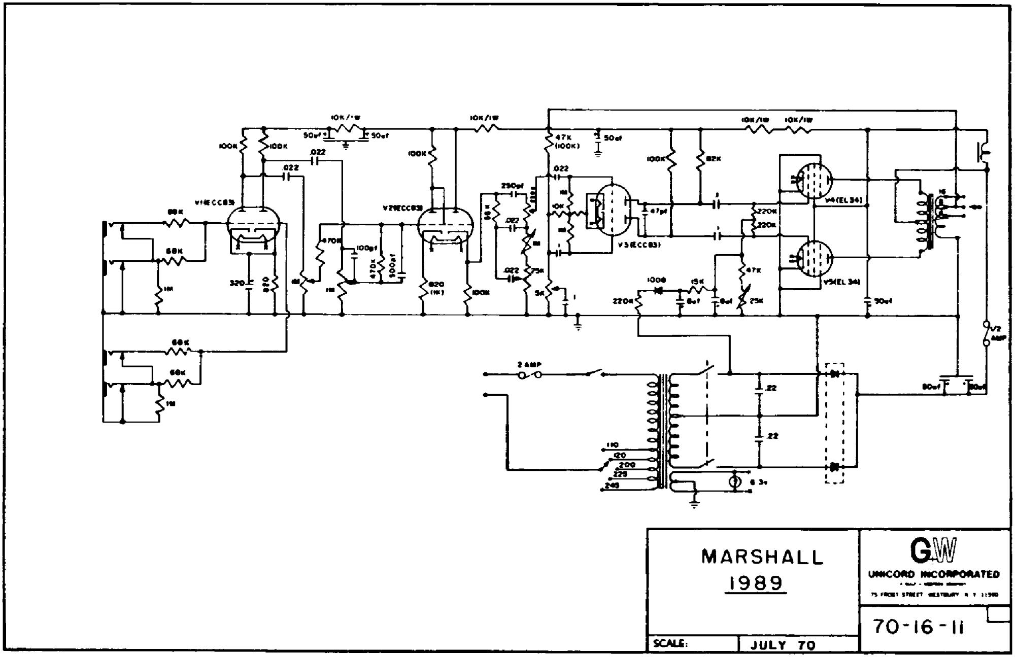 hight resolution of marshall