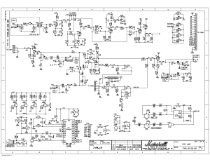 MARSHALL JVM410 Service Manual download, schematics, eeprom, repair info for electronics experts