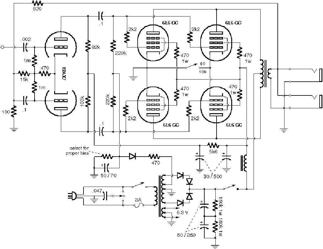 MESA BOOGIE MKIV Service Manual free download, schematics