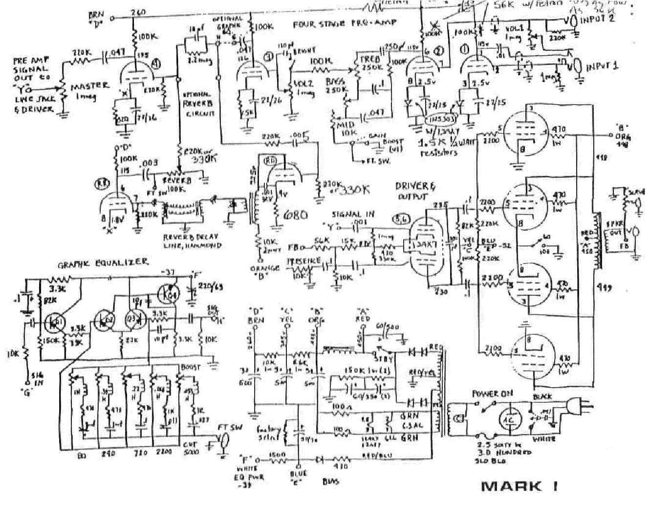 Mesa Boogie Mark Iii Schematic