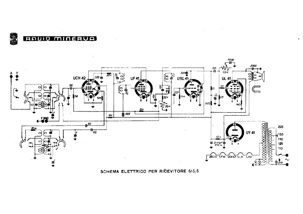 MINERVA CAMERAD-A RADIO SCH Service Manual download