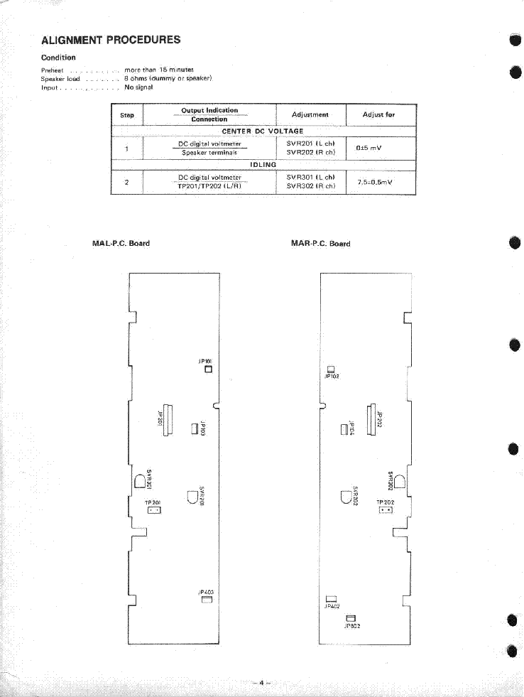 NAD 2002PE SM Service Manual download, schematics, eeprom