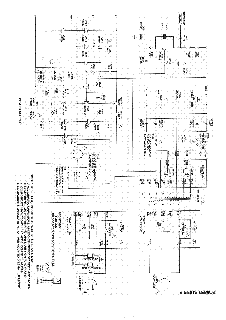 NAD 312 SM Service Manual download, schematics, eeprom