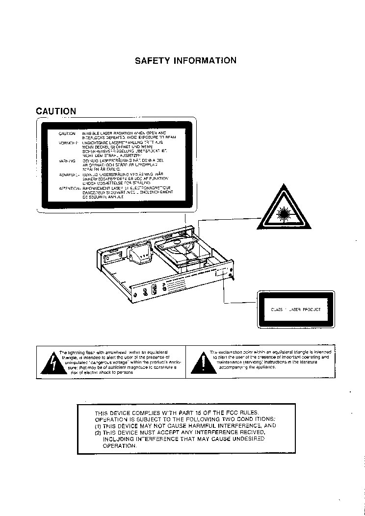 NAD 502 SM Service Manual download, schematics, eeprom