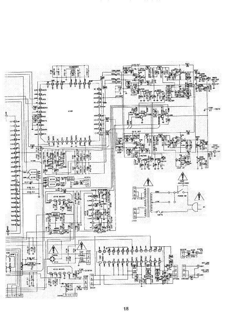 NAD 514 Service Manual download, schematics, eeprom