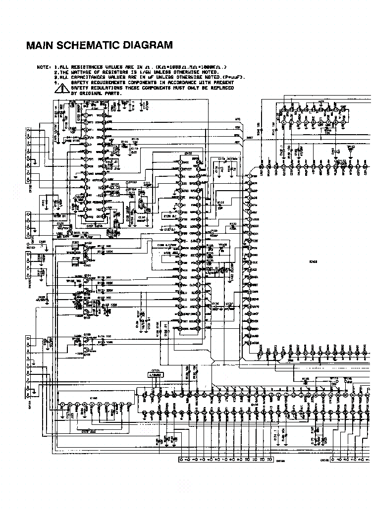 NAD T753 SCH Service Manual free download, schematics