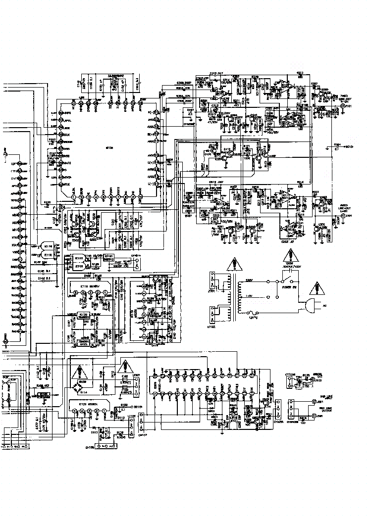 NAD 514 SCH 1 Service Manual download, schematics, eeprom
