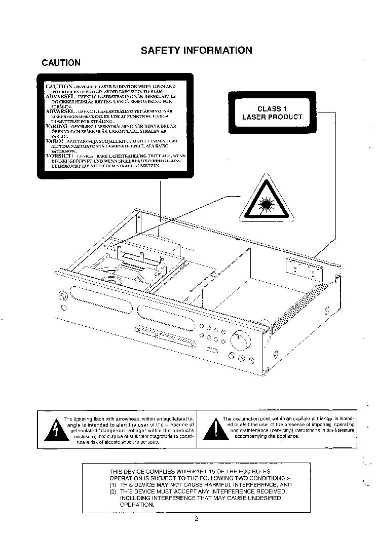 NAD L40 Service Manual download, schematics, eeprom