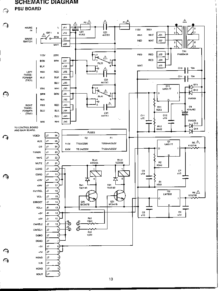 NAD S300 SCH 2 Service Manual download, schematics, eeprom
