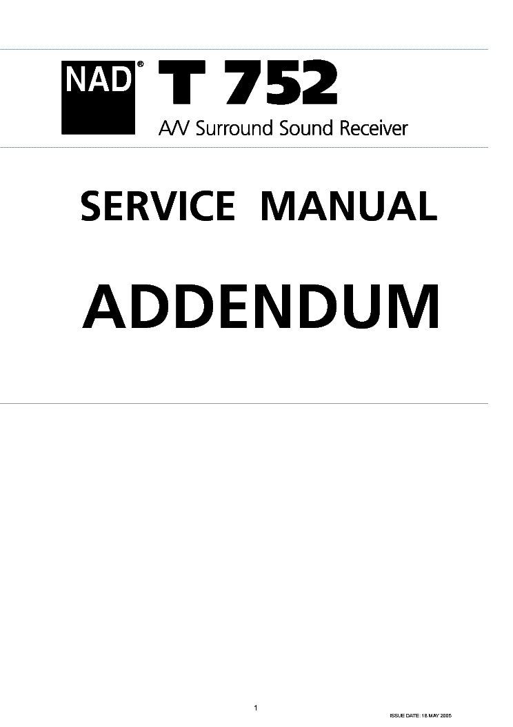NAD 7120 7125 SM Service Manual free download, schematics