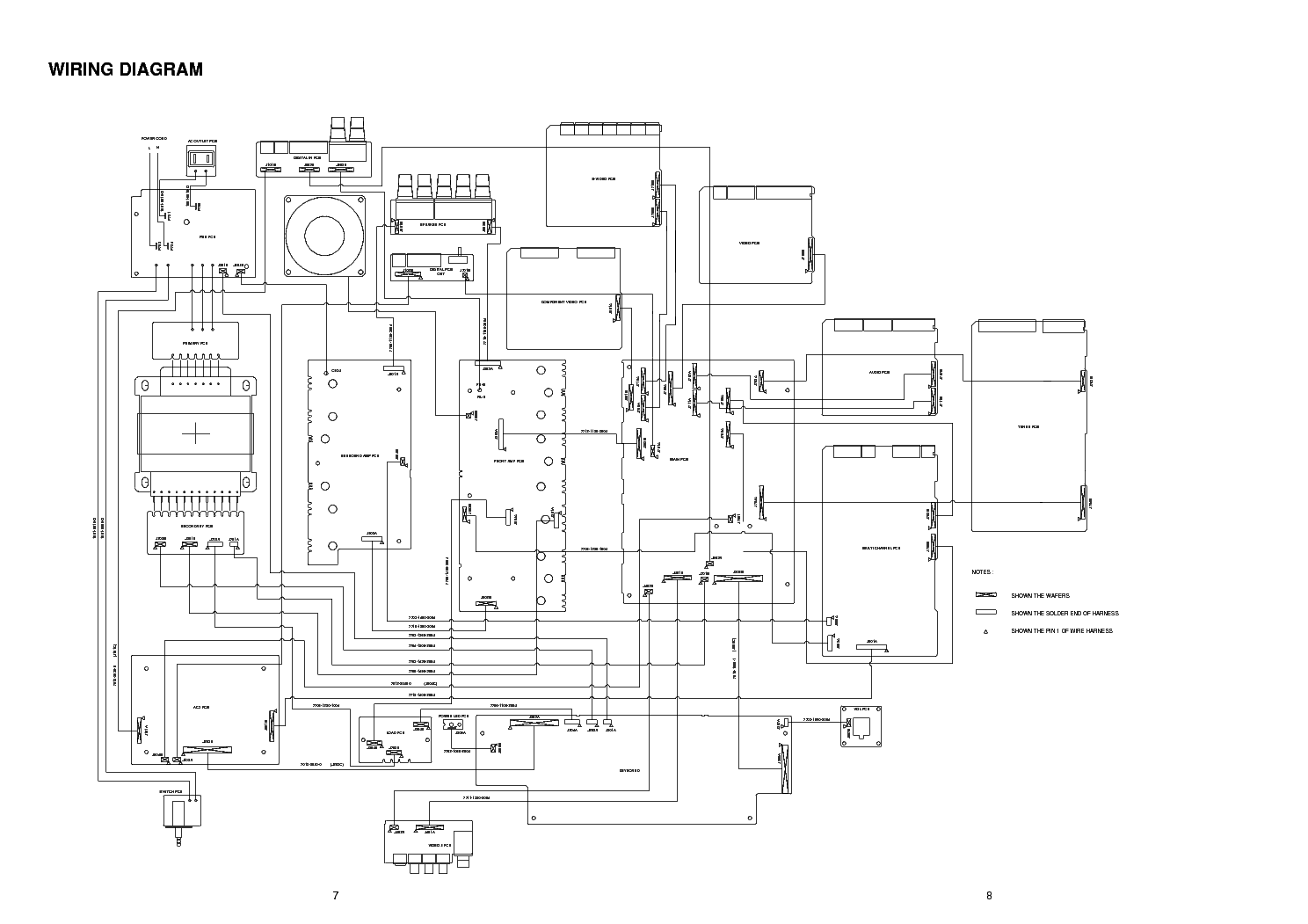NAD T761 Service Manual download, schematics, eeprom