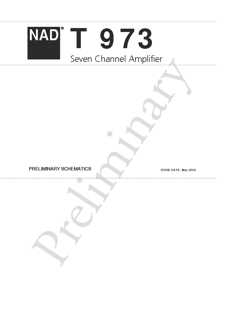 NAD 3240PE SCH Service Manual download, schematics, eeprom