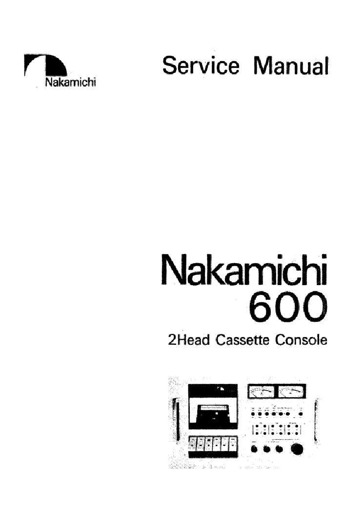 NAKAMICHI CR-7-A-E CR-70 SCH Service Manual download