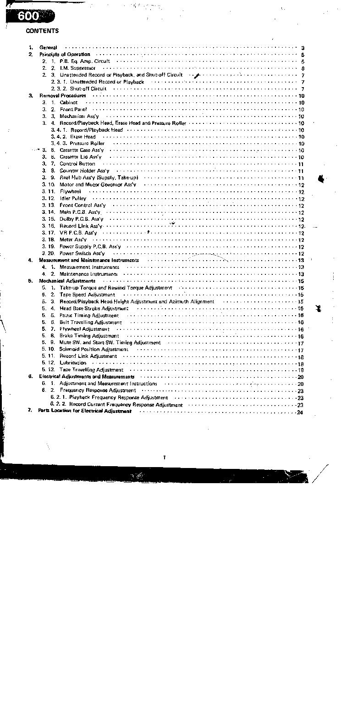 NAKAMICHI 600 SM 2 Service Manual download, schematics