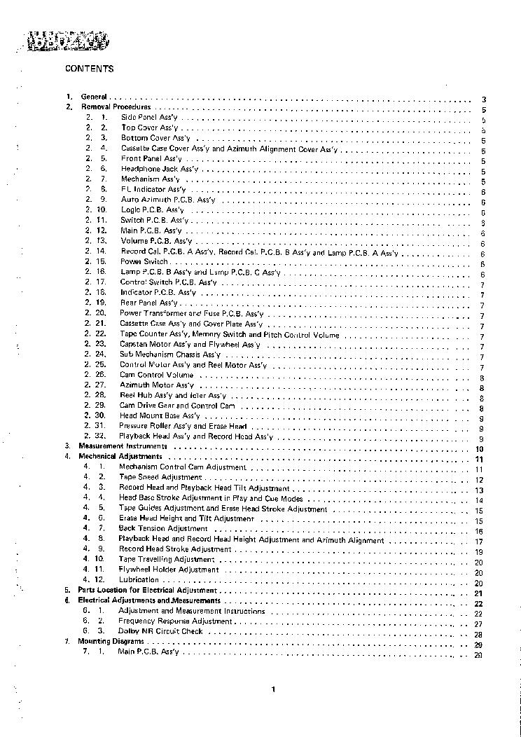 NAKAMICHI 680ZX SM 2 Service Manual download, schematics