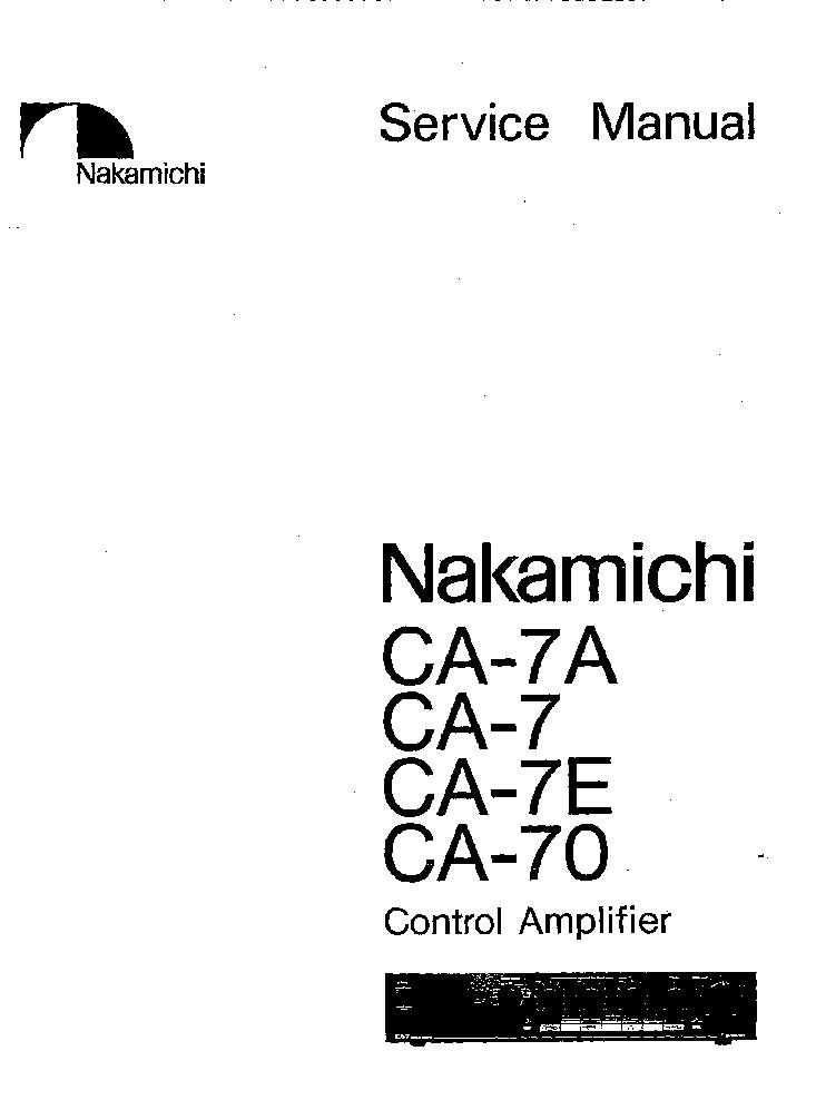 NAKAMICHI 550 SM Service Manual free download, schematics