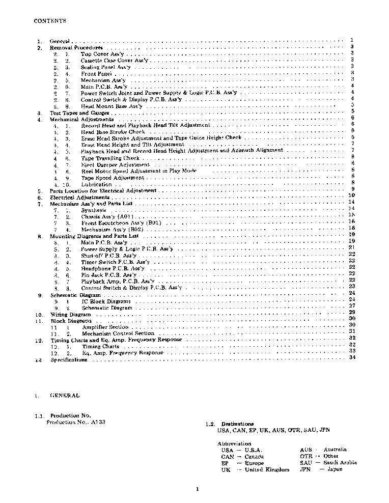 NAKAMICHI CASSETTE-DECK-1 SM Service Manual download