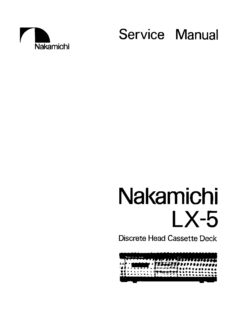 NAKAMICHI ST-7-E SCH Service Manual free download