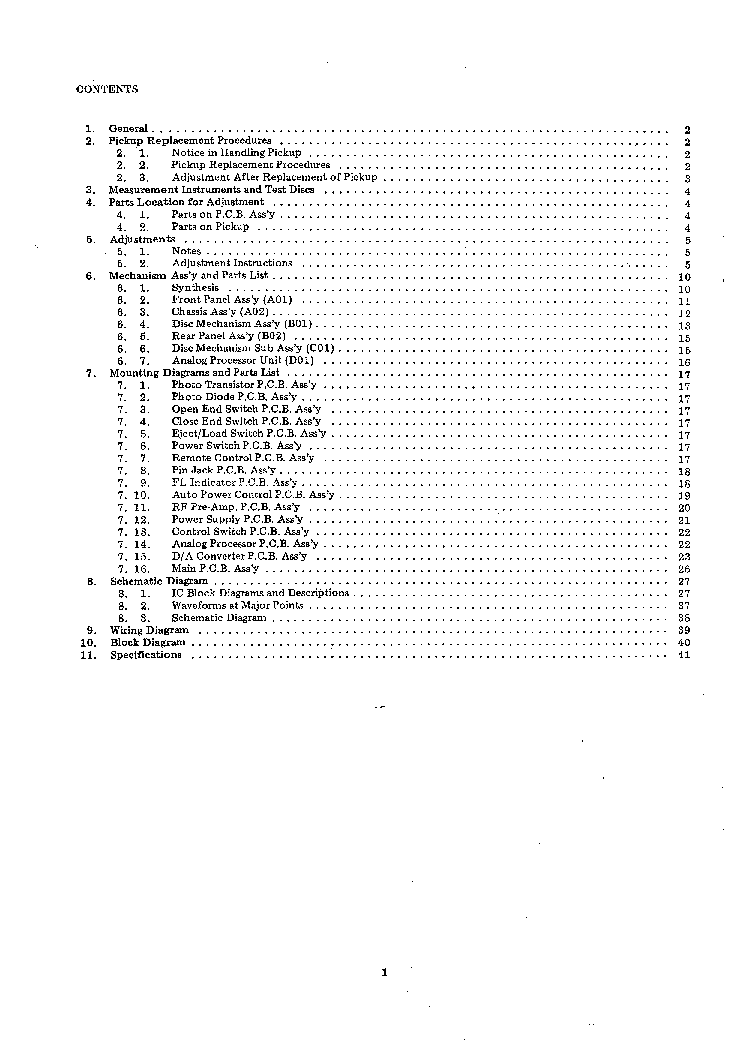 NAKAMICHI OMS-5 5E 50 SM Service Manual download