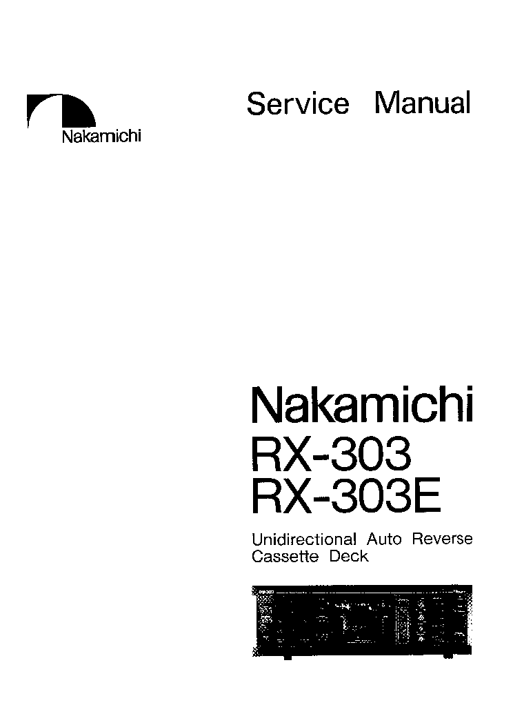 NAKAMICHI 620 SCH Service Manual download, schematics