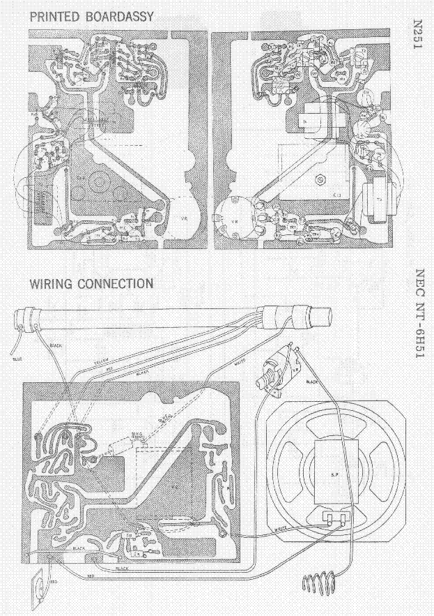 NEC NT-6H51 NT-6H51 SM Service Manual download, schematics