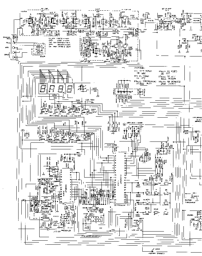 NIKKO NA-550 Service Manual free download, schematics