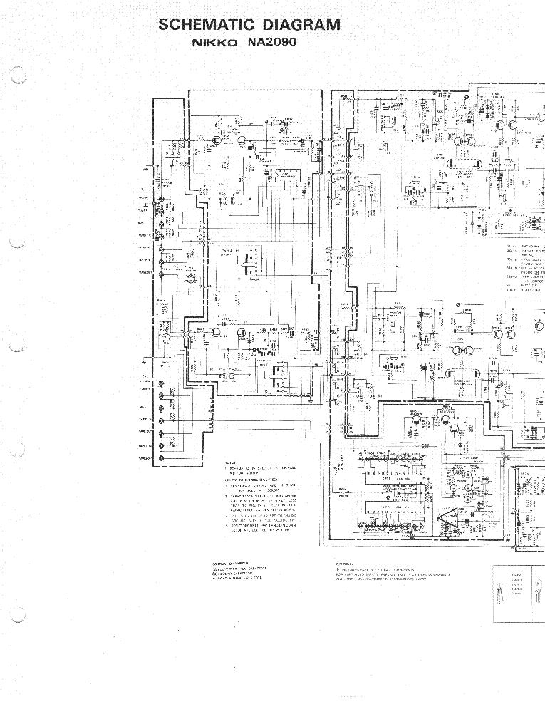NIKKO NA-2090-POWER Service Manual download, schematics