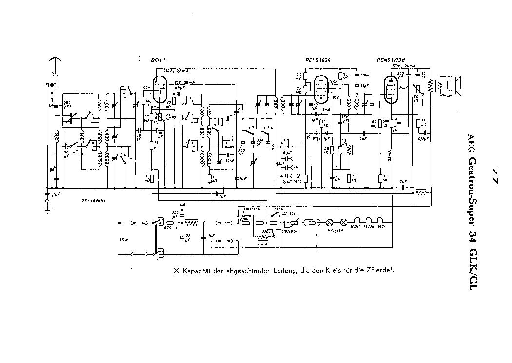 AEG GEATRON 303WL Service Manual download, schematics