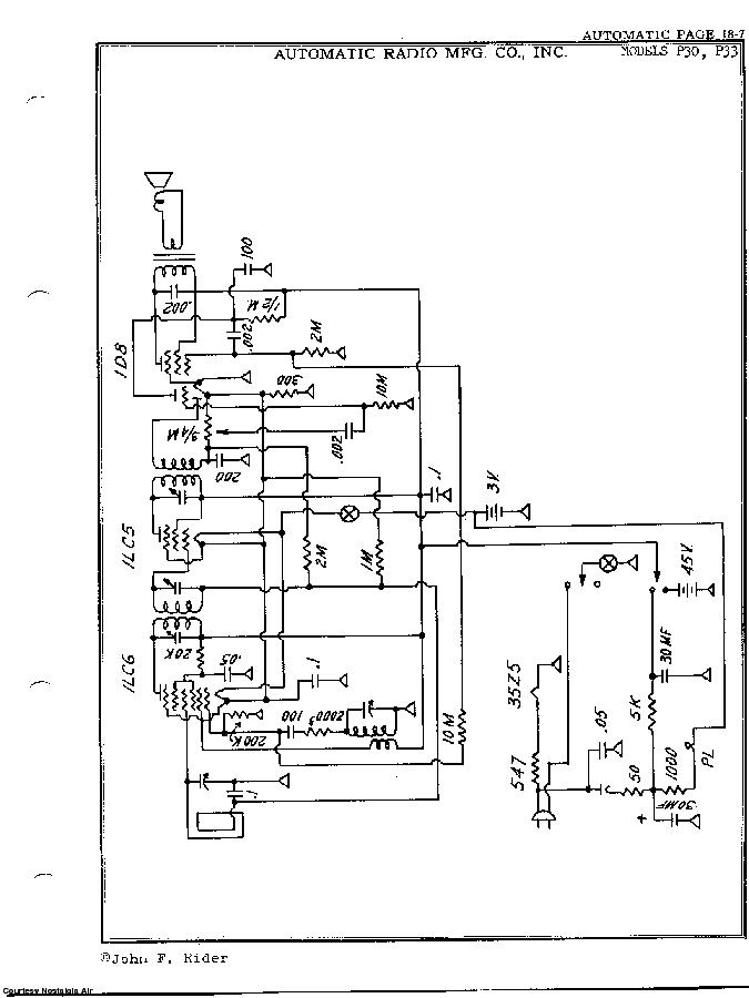 AUTOMATIC RADIO P-30 SCH Service Manual download