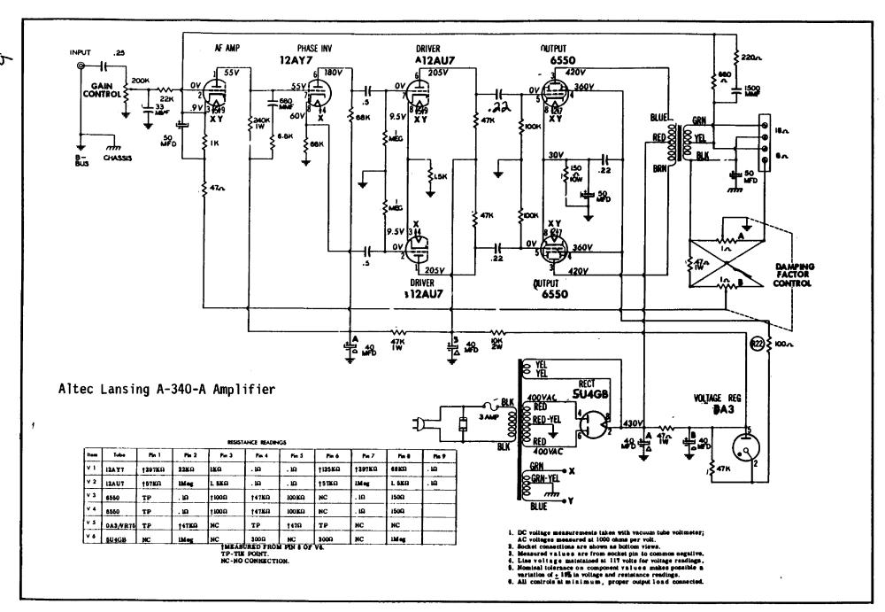 medium resolution of altec amplifier transformer wiring schematics transformer 24 volt transformer wiring diagram transformer connection diagrams