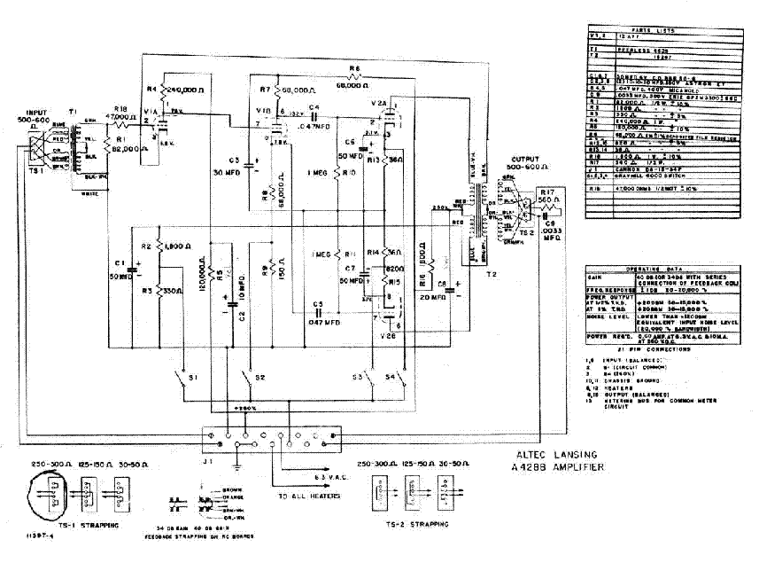 ALTEC-LANSING A-428B SCH 2 Service Manual download