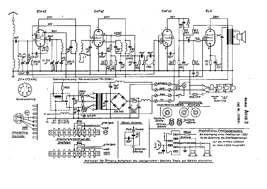 BECKER GRAND PRIX 1960 Service Manual download, schematics