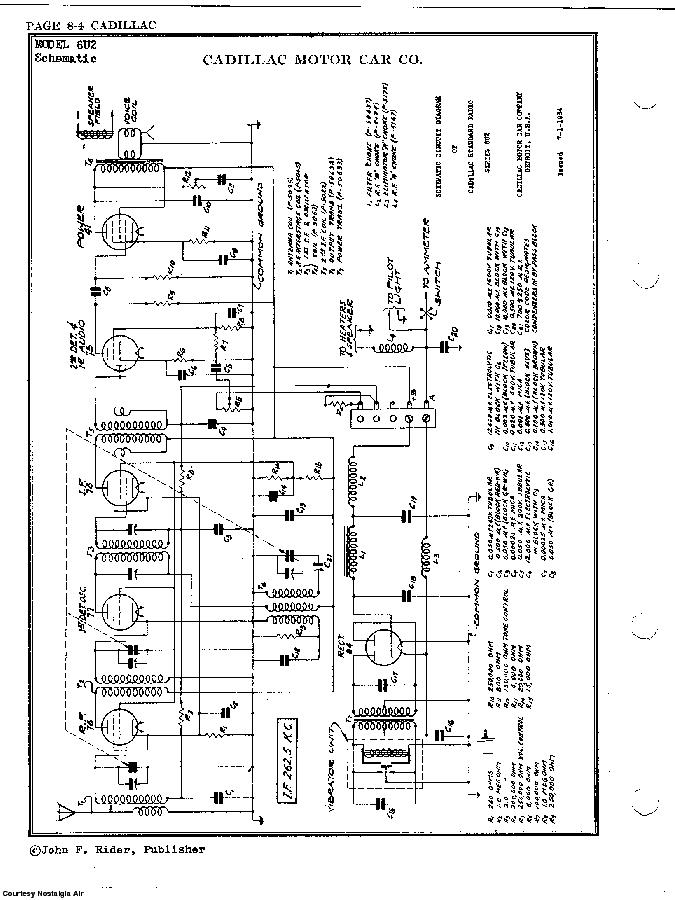 CADILLAC DIV,-GENERAL MOTORS 6U2 SCH Service Manual